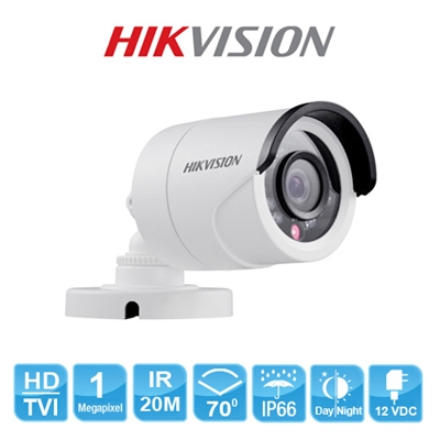 camera HD TVI HIKVISION DS-2CE16C0T-IRP